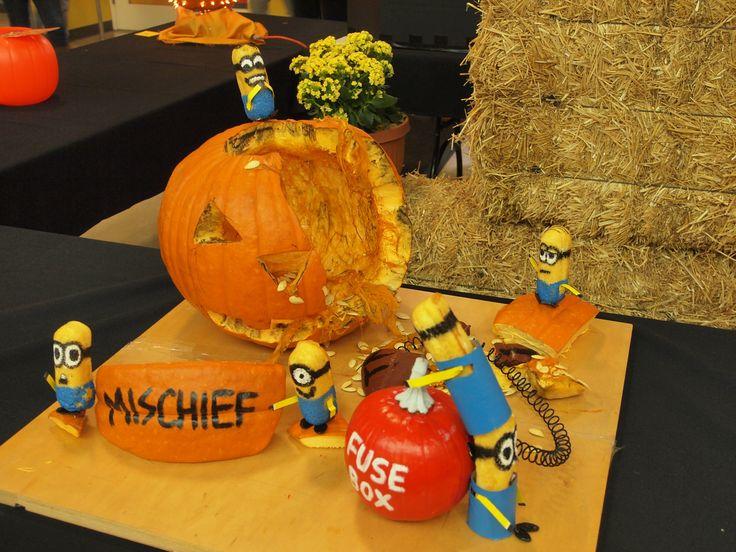 Minion Pumpkin Template Which pumpkin did you think