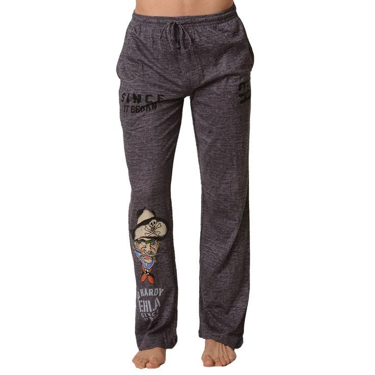 Ed Hardy Men's Pirate Chaptain Lounge Pants – Black Rock Desert