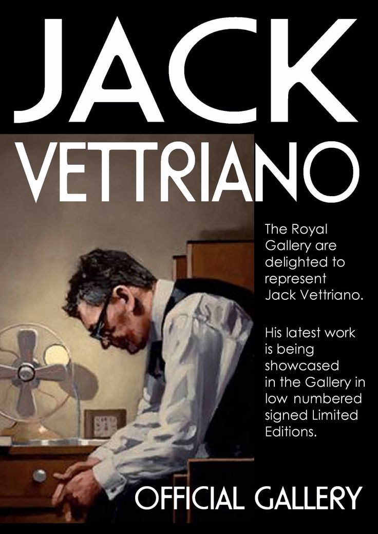 Jack Vettriano at The Royal Gallery