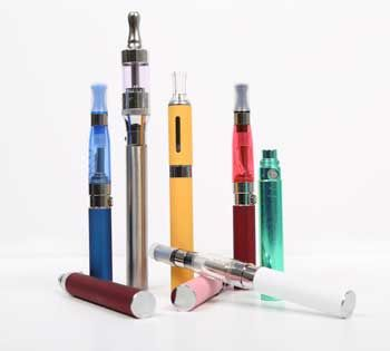 Electronic cigarettes (also called e-cigarettes or electronic nicotine delivery systems) are battery-operated devices designed to deliver nicotine with flavorings and other chemicals to users in vapor instead of smoke. They can be manufactured to resemble traditional tobacco cigarettes, cigars or pipes, or even everyday items like pens or USB memory sticks; newer devices, such as those with fillable tanks, may look different. More than 250 different e-cigarette brands are currently on the…