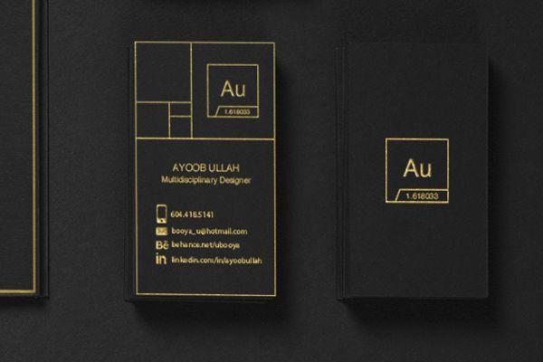 Au Brand Identity by Ayoob Ullah, via Behance