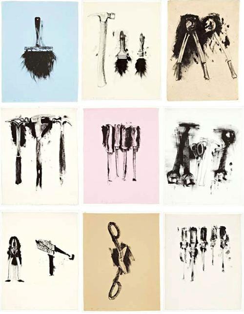 Jim Dine- united tools