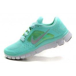 Nike Free Run+ 3 Damesko Grønn Grå | billig Nike sko | Nike sko norge | kjøp Nike sko | ovostore.com