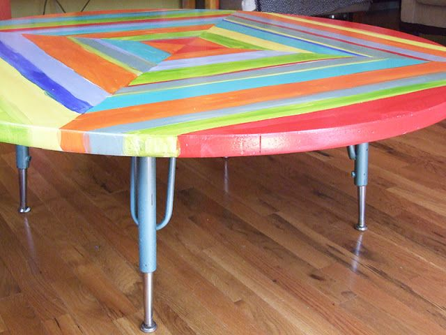 Table Re Do Painting Formica Kate And Connor