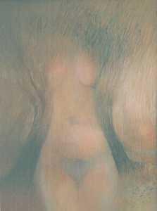 40 cm x 30cm pastel by Leszek Gesiorski