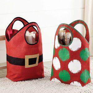 Cute Christmas Totes!