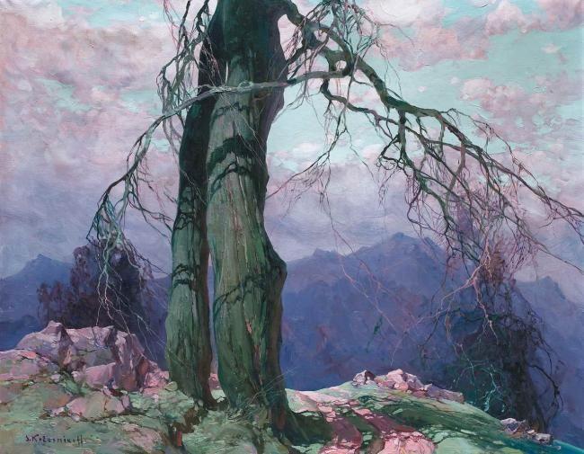 Stepan Kolesnikov  In the mountains