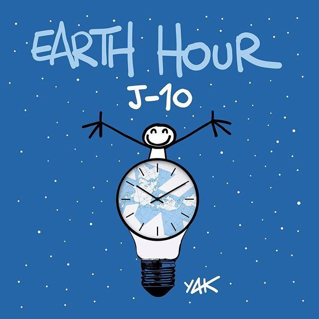 Earth Hour J-10 !!!  Participez symboliquement au mouvement avec @wwffrance et ELYX en éteignant vos lumières pendant 1 heure le 24 mars de 20h30 à 21h30 et reconnectez-vous à la nature !  #Connect2Earth #TogetherPossible #WeAreOne