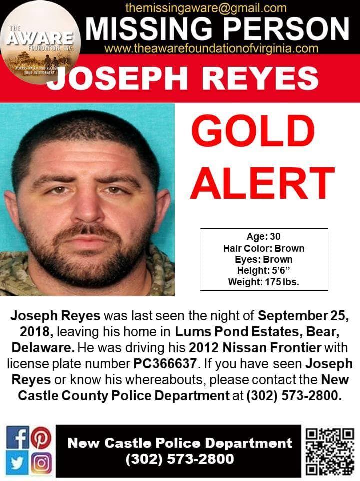 Find Missing Joseph Reyes! ***(UPDATE: NO LONGER MISSING
