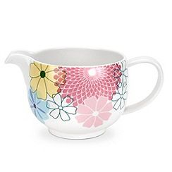 Portmeirion - Multicoloured 'Crazy Daisy' cream jug