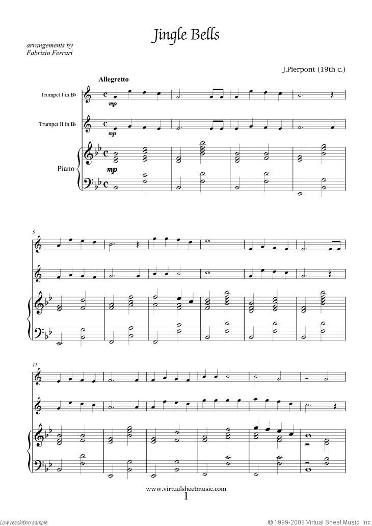Violin silver bells violin sheet music : 51 best Jingle Bells Sheet Music images on Pinterest | Christmas ...