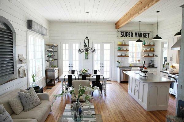 Fixer Upper Gaines Farmhouse HGTV