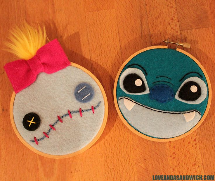 Scrump and Stitch hooplas!  WOOT!  I COVET these!