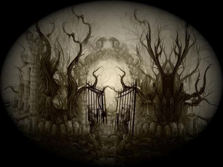 Animated Skull Wallpaper Haunted Forest Images For New Products Gates Of Hell