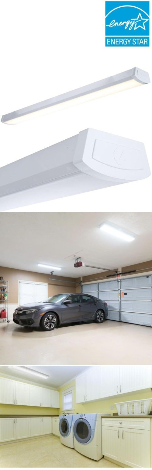 Led Flush Mount Garage Lighting