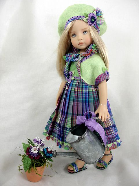 Pretend Posies - for Effner Little Darlings by Dress*Ups by pj, via Flickr: