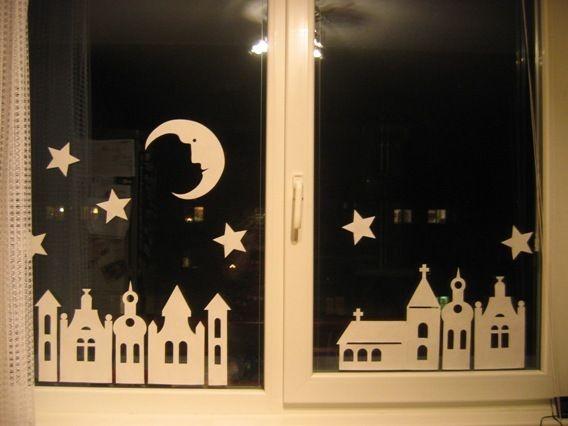 Noční městečko