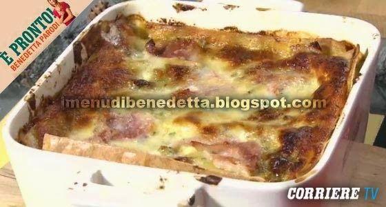 Lasagne al Pesto di Pistacchi di Benedetta Parodi