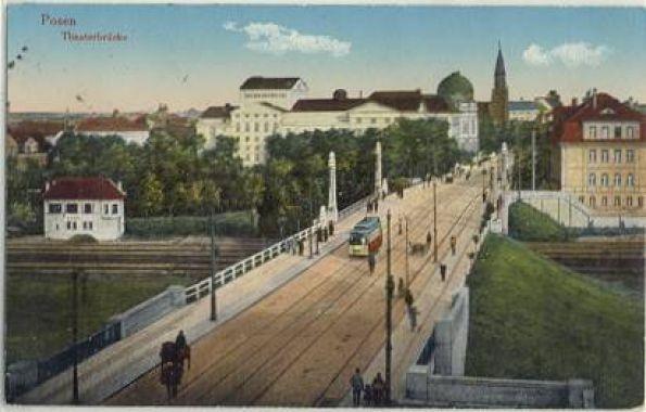 Most Teatralny Poznań