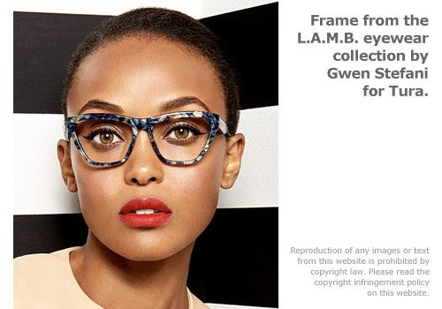 Frame style from the L.A.M.B. collection by Gwen Stefani ...