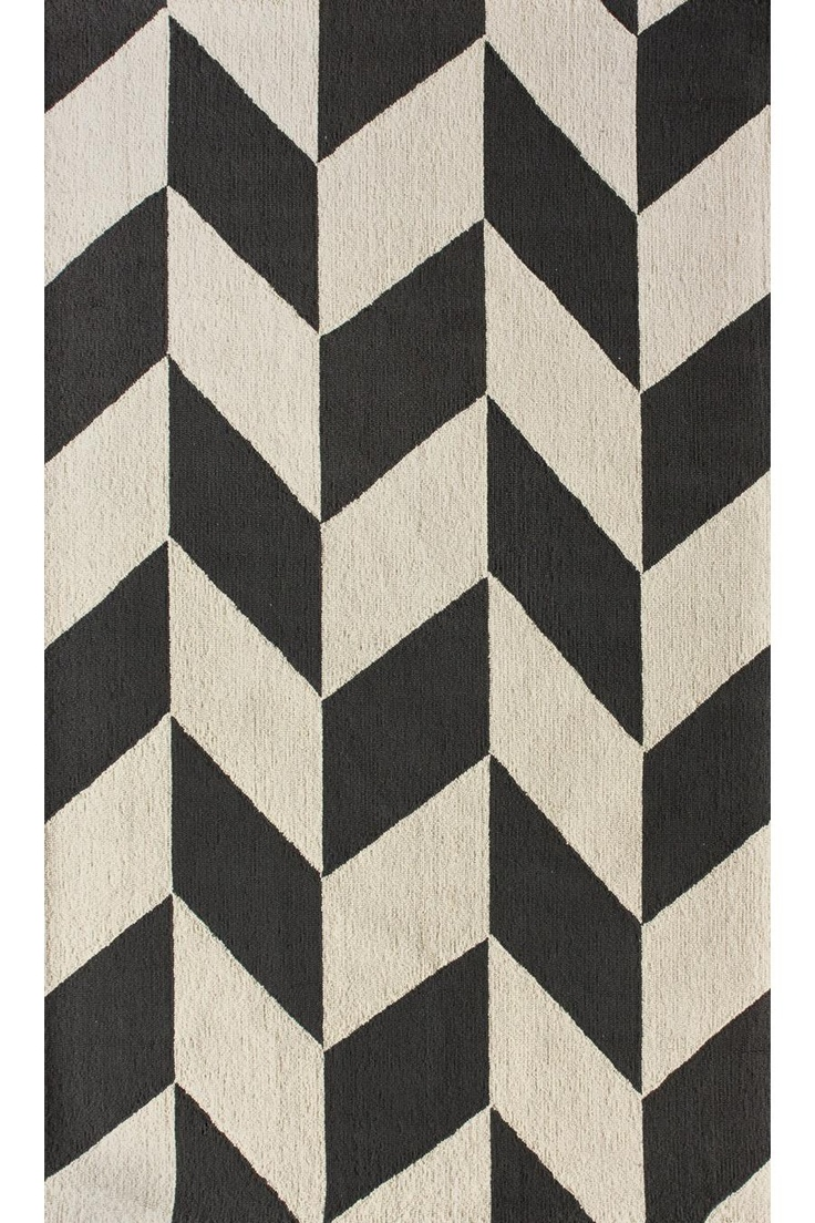 best  chevron rugs ideas on pinterest  grey chevron rugs  - chunk chevron rug