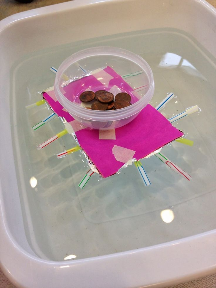 Can you build a boat that will float and hold weight? GREAT STEM activity!