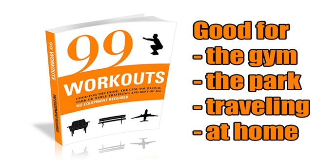 99 Workouts No Equipment Required Guide