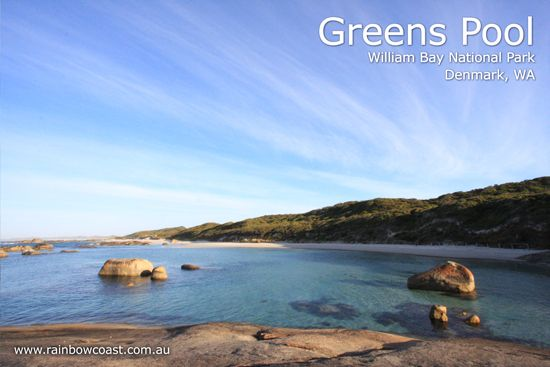 Greens Pool, one amazingly beautiful stop within the Denmark WA Portion of the Bibbulmun Track.