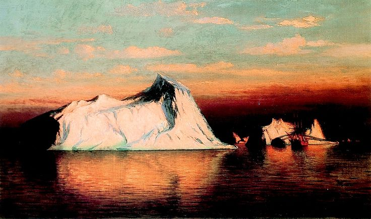 Arctic Scene William Bradford (1878)