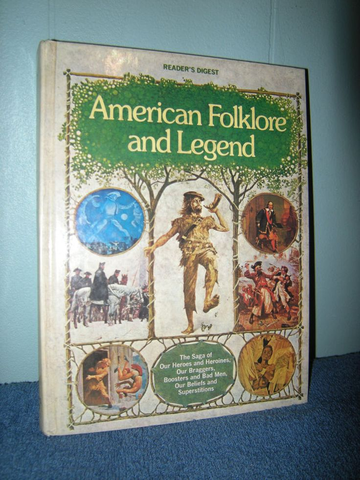 American Folklore and Legend, Reader's Digest Books, Hardcover,(1978)