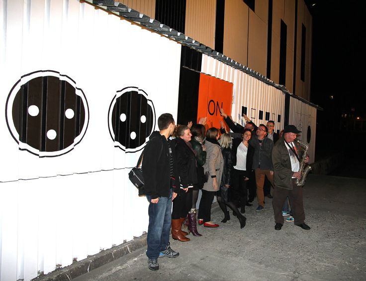 #Audiomural NCK, #Mural #Kraków – #NowaHuta, #streetart Październik 2013, projekt: #AleksandraToborowicz, koordynacja: #MichalPalasz