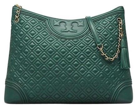 fea352048d5 TORY BURCH Fleming Quilted Leather Top Zip Tote - Norwood Green #fashion  #clothing #shoes #accessories #womensbagshandbags (ebay link)