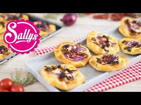 Sallys Blog - Herzhafte Kopenhagener / vegetarisches Fingerfood / Plundergebäck