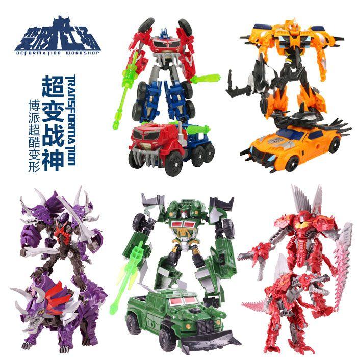 the deformation of super ares transformers factory deformation toy car robot optimus prime battle fleet model #transformer
