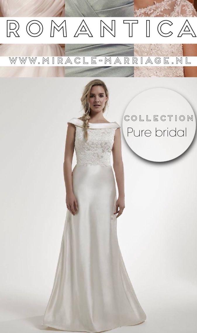 #miracleontwerpers Romantica Collection Pure Bridal #trouwjurk #romantica