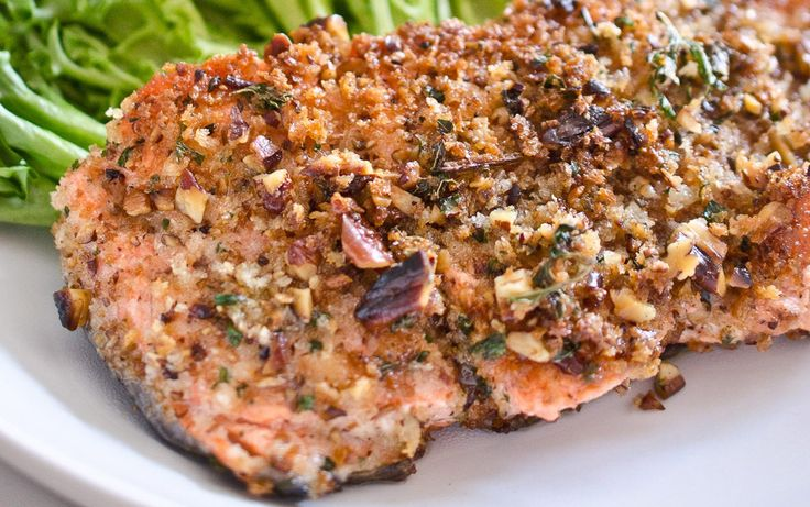Quick enough for a weeknight meal but tasty enough for your next dinner party, this pecan encrusted salmon, courtesy of The Endless Meal, will become ...