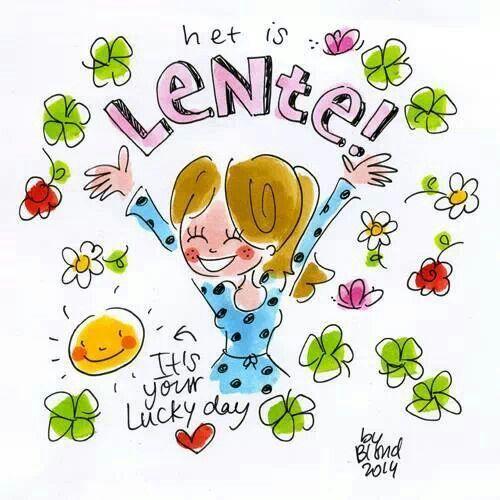 Het is Lente! - Blond Amsterdam