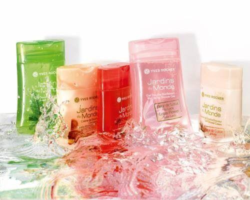 Yves Rocher &duchas naturales para que la hora de tu baño sea una experiencia unica.