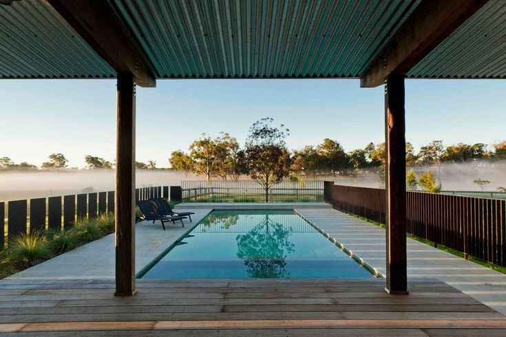 Contemporary fencing ideas landscape farmhouse with modern landscaping corrugated steel roof minimalist landscaping