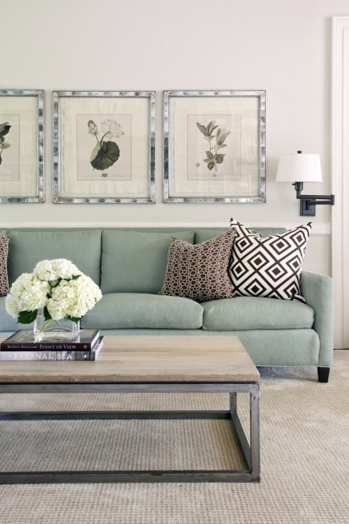 Love the couch, cushions and coffee table