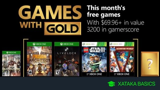 Juegos Xbox Gold Gratis Para Xbox One Y 360 De Septiembre 2018 In