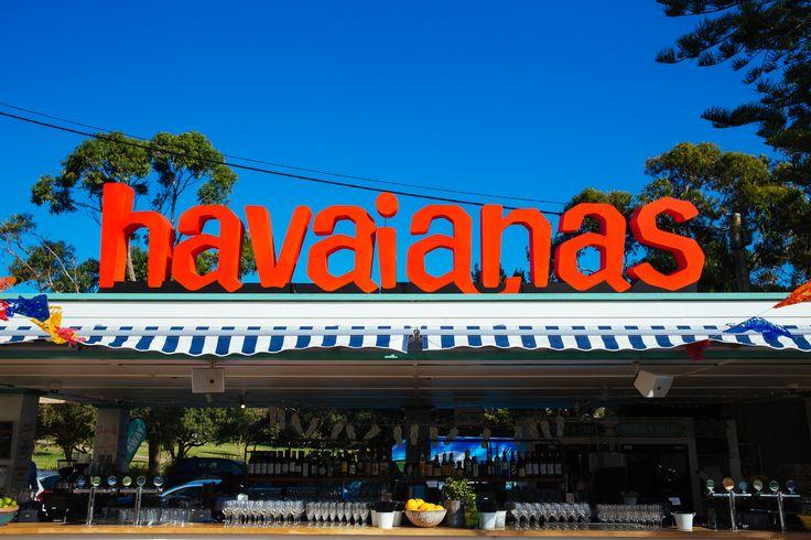Welcoming Summer with Havaianas.  www.havaianasaustralia.com.au #AlwaysSummer #Havaianas #Party