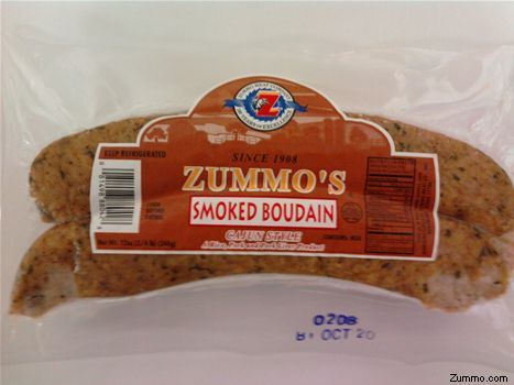 Zummo's Boudain sausage- made this tonight and it was AWESOME !!!!