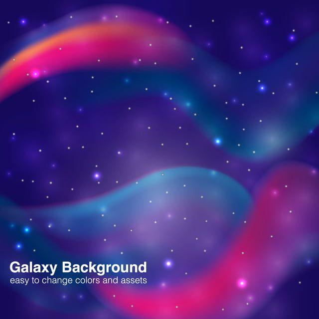 غالاكسي خلفية ملونة للتصميم Galaxy Background Background Design Colorful Backgrounds