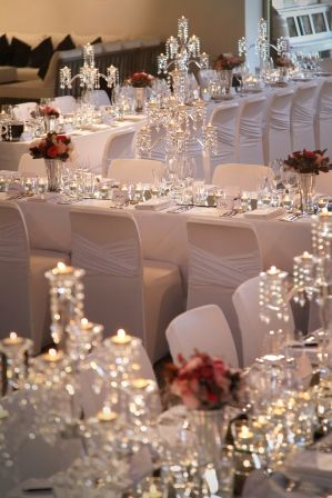 "Featuring ""Madrid"" chair covers - Styled by Chic Rustique"