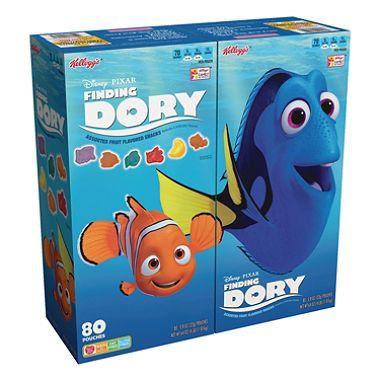 Disney Pixar Finding Dory Fruit Snacks (80 ct.)