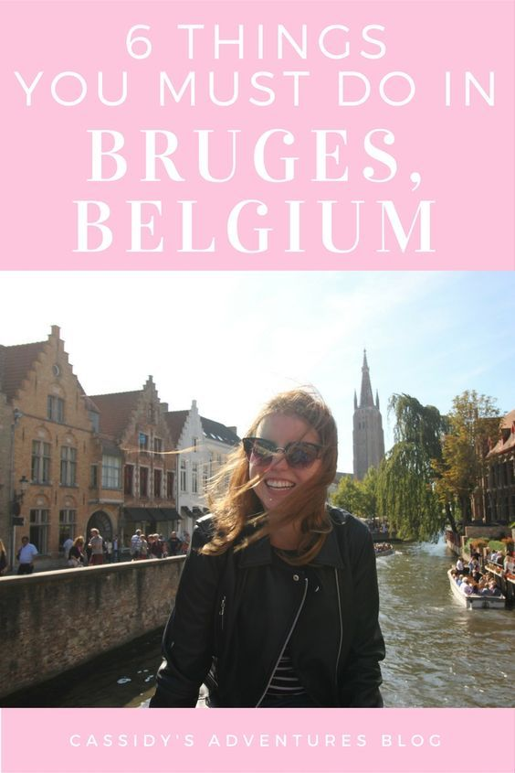 "Bruges is a lovely little Flemish town on the English channel, often referred to as the Venice of the North and designated as the  'European Capital of Culture,"" in 2002. Here are six things you must do while you're in Bruges, Belgium."