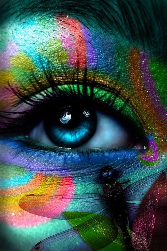 Exceptional Rainbows Have It Beauty Is In The Eye Of The Beholder Eye Eye ♋єγє ѕєє ∂єє℘  !ητ⚬ γ⚬uя ѕ⚬uℓ In Color So Amazingly Beautiful Art Colors