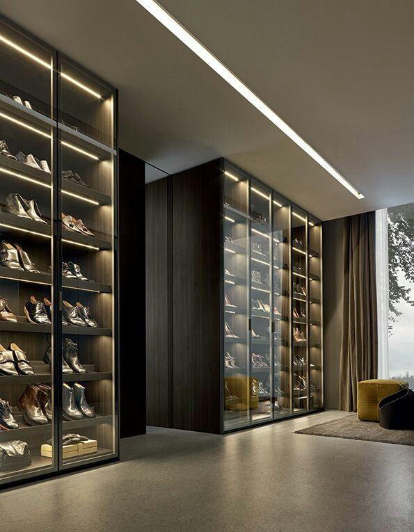 Inspirational Walk Through Closet Designs