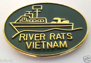 pin images of usn river rats vietnam war | RIVER RATS VIETNAM Military Veteran Hat Pin 14923 HO | eBay